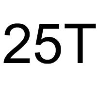 لیست تاور کرین 25 تن