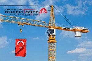 تاور کرین لیبهر در فرودگاه جدید استامبول